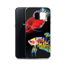 Load image into Gallery viewer, Betta Fish 2, Samsung Galaxy Case Black