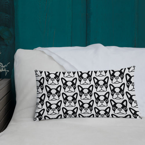 French Bulldog Face Premium Pillow