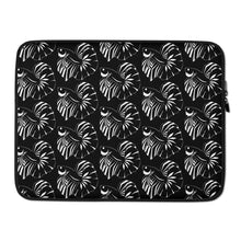 Load image into Gallery viewer, Betta Fish Figure Laptop Sleeve Black