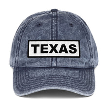 Load image into Gallery viewer, Texas Sign, Vintage Cotton Dad Hat