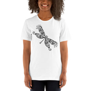 Black Dragonfly, Women's Short-Sleeve T-Shirt