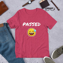 Load image into Gallery viewer, Passed Text With Emoji, Short-Sleeve Unisex T-Shirt