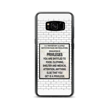 Load image into Gallery viewer, Alcatraz Prison Regulation Nr 5 Sign, Samsung Galaxy Case