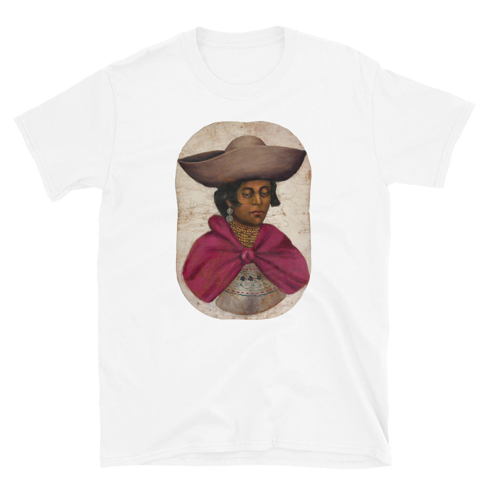 Quechua Indian Woman, Women's Short-Sleeve T-Shirt