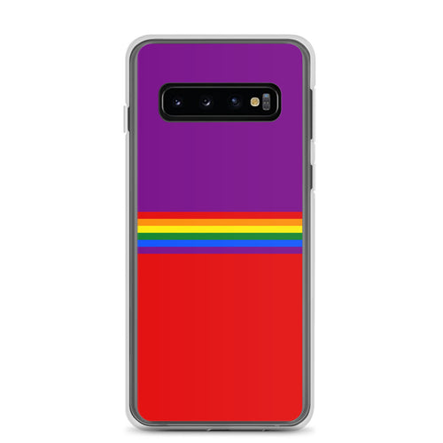 Pride Rainbow Flag Colors, Samsung Galaxy Case