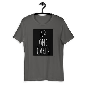 Number One Cares, Women's Short-Sleeve T-Shirt