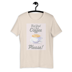 But First Coffee Please Short-Sleeve T-Shirt