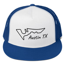 Load image into Gallery viewer, Austin Texas Circuit of The Americas Track Map, Trucker Cap
