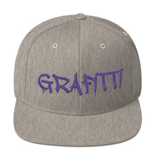 Load image into Gallery viewer, Grafitti Text, Snapback Hat