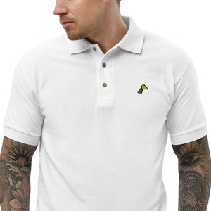Giraffe Head Embroidered Classic Polo Shirt