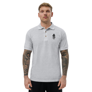 Dollar Sign, Embroidered Classic Polo Shirt