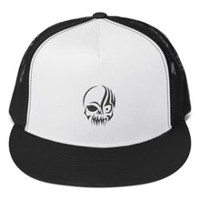 Load image into Gallery viewer, Tribal Skull Head Black, Trucker Cap