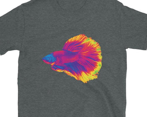 Betta Fighting Fish Atomic Short-Sleeve Unisex T-Shirt