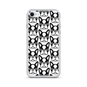 French Bulldog Face, iPhone Case