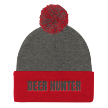Load image into Gallery viewer, Deer Hunter, Pom Pom Knit Cap