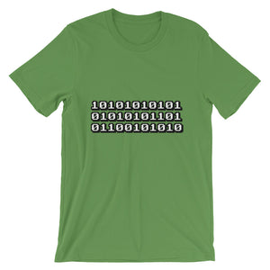 Machine code, Unisex Short Sleeve Jersey T-Shirt