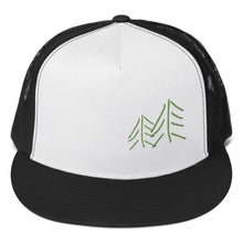 Load image into Gallery viewer, Trees 3D Puff, Classic Trucker Cap