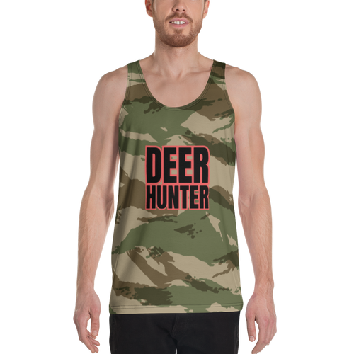 deer hunter camo 2 tank top