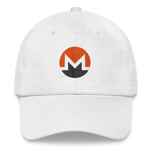 Monero Cryptocurrency Logo, Dad Hat