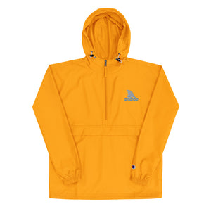 Shark Fin, Embroidered Packable Outdoors Jacket by Champion
