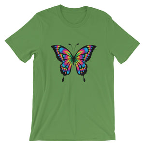 Colorful Butterfly, Short-Sleeve Unisex T-Shirt