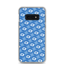 Load image into Gallery viewer, Dash Cryptocurrency Logo Pattern, Samsung Galaxy Case Blue