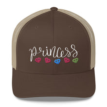 Load image into Gallery viewer, Princess and Diamonds, Retro Trucker Cap