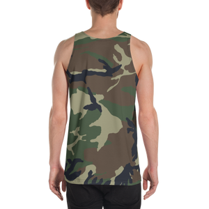 Deer Hunter Text, Men's Tank Top