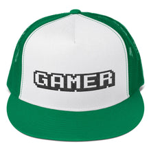 Load image into Gallery viewer, Gamer Text, Classic Trucker Cap