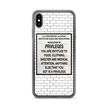 Load image into Gallery viewer, Alcatraz Prison Regulation Nr 5, iPhone Case