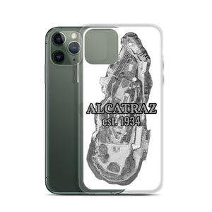 Alcatraz Island Prison est 1934, iPhone Case