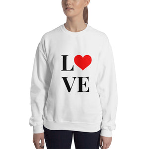 Love Heart 2, Unisex Sweatshirt