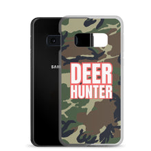 Load image into Gallery viewer, Deer Hunter Text White, Samsung Galaxy S8-S10+ Case