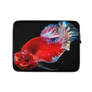 Betta Fish Image Laptop Sleeve