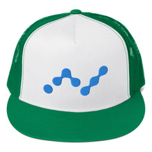 Load image into Gallery viewer, Nano Cryptocurrency Logo, Trucker Cap