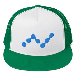 Nano Cryptocurrency Logo, Trucker Cap