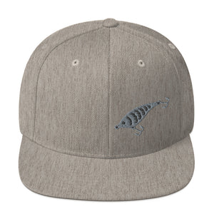 Fishing Lure, Embroidered Snapback Hat