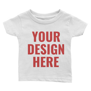 Design Your Own Double Side, Infant Tee