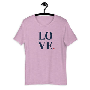 LOVE, Women's Short Sleeve Premium T-Shirt