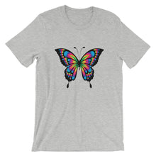 Load image into Gallery viewer, Colorful Butterfly, Short-Sleeve Unisex T-Shirt