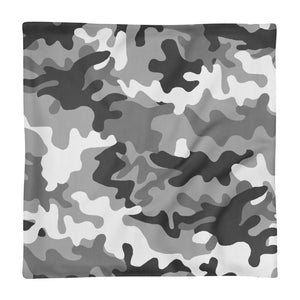 Camouflage pillow case