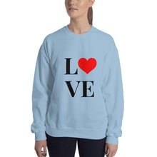 Load image into Gallery viewer, Love Heart 2, Unisex Sweatshirt