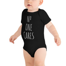 Load image into Gallery viewer, Baby One Piece Black