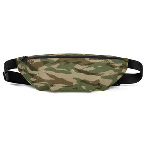 Green Camouflage Pattern 2, Fanny Pack