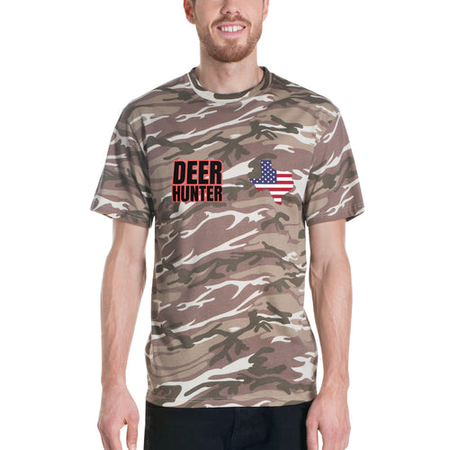 deer hunter camo t-shirt texas