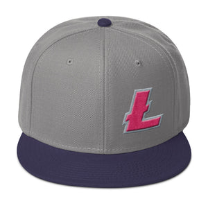 Litecoin LTC Cryptocurrency Symbol Multicolor, Snapback Hat