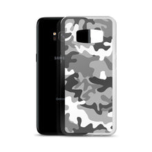 Load image into Gallery viewer, Camouflage Gray Pattern Print, Samsung Galaxy S8-S10+ Case