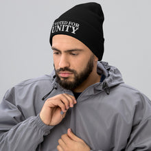 Load image into Gallery viewer, I Voted For Unity, Embroidered Unisex Cuffed Beanie