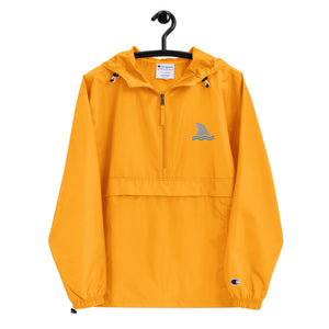 Shark Fin Embroidered Packable Outdoors Jacket by Champion