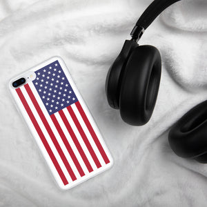 US Flag, iPhone 6/6S/7/7+/8/8+/X/X-max/XR Case